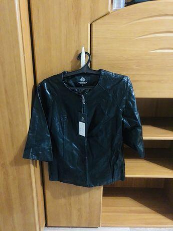 Кожанный куртка