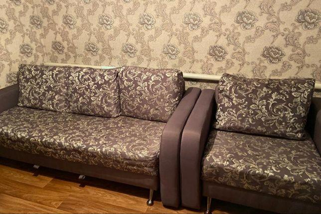 Продам б/у диван и кресло-кровать
