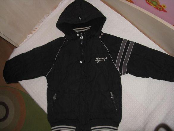"Продавам детско зимно ватирано яке, марка ""Даймънд Спорт"""