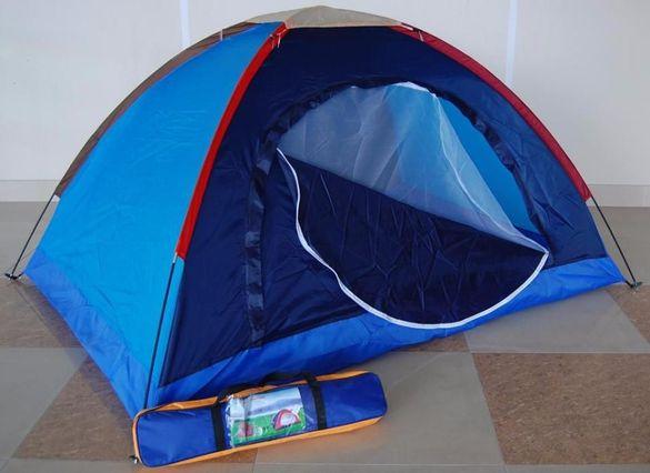 Евтина НОВА палатка за двама човека - еднослойна