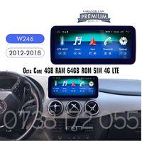 Navigatie GPS ANDROID Mercedes B Class W246 spotify bluetooth WIFI 4G