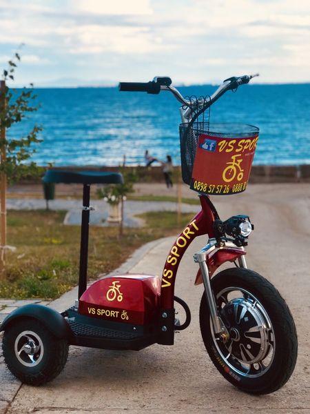 Електрически скутер за бизнес • Евтина поддръжка • Доставка • Гаранция гр. Бургас - image 1