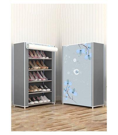 Dulapior pentru pantofi cu 5 rafturi si panza antipraf