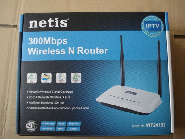 router wireless netis