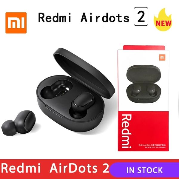 Original Xiaomi AirDots 2 безжични слушалки AirPods Bluetooth Earbuds гр. Варна - image 1