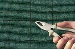 Plasa verde pentru umbrire 88% -gard-mascare-antivant -Garantie !!