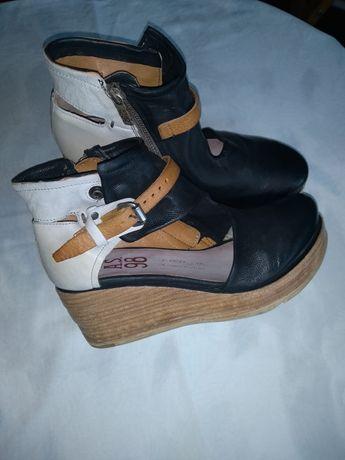 Sandale As 98 Airstep, piele naturala