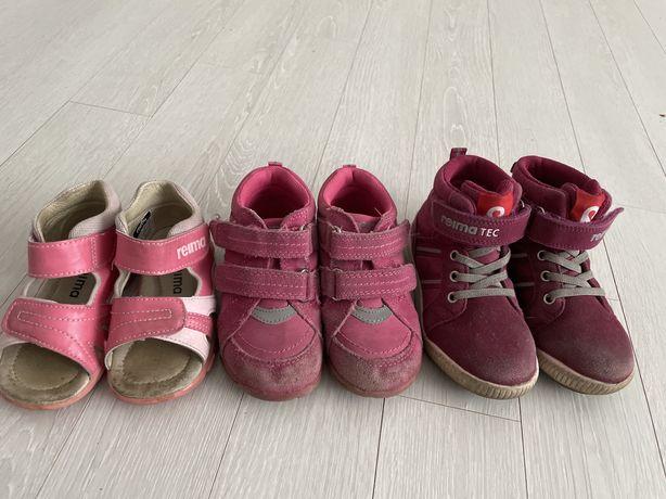 Продам обувь для девочки Reima