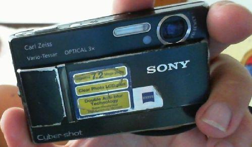 Sony dsc T 10