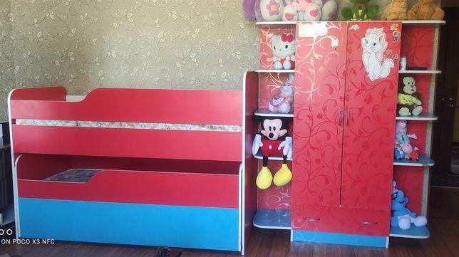 Продам детскую мебель в хорошем состоянии