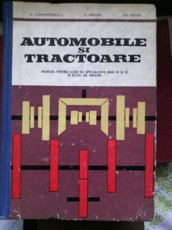 Automobile si tractoare de M. Constantinescu