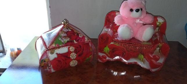 Подарка шкатулка сатылады