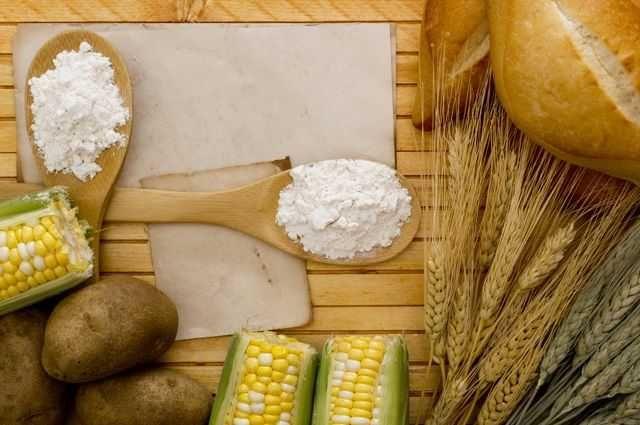 Крахмал кукурузный, картофельный