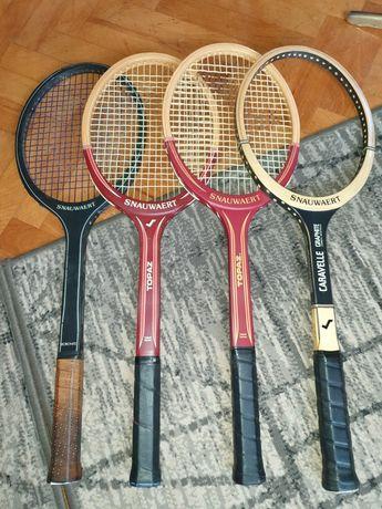 Rachete tenis lemn Snauwaert