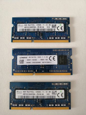 Memorie Ram laptop ddr3 4 gb PC3L