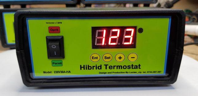 Hibrid Termostat Digital, 230V30A-HA, -99 +999 Grade