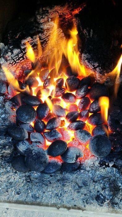Brichete carbuni COCS+LIGNIT ardere 100% fără cenușă