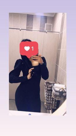 Черное платье 5000тг