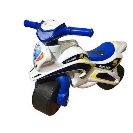Motocicleta copii de impins model Politie Pompieri cu sunete Avantajos