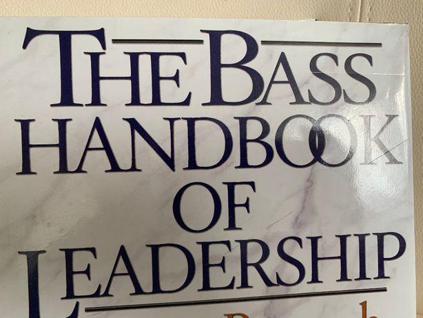 Bass -The Bass Handbook of leadership, 4 ed, NOU, hardcover, impecabil