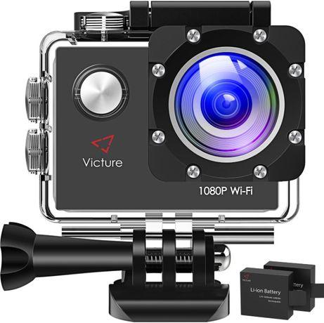 Camera Sport tip GoPro Victure AC400 1080P HD 12MP WiFi - Noua