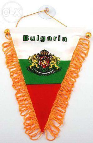 Български национални знамена за кола
