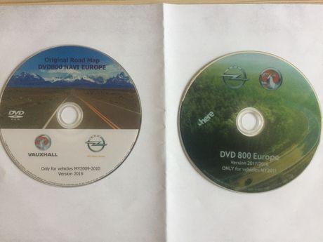 OPEL Harta Navigatie 2018 GPS DVD800 Romania Insignia Astra Alba
