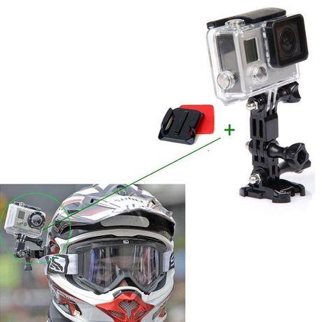 Стойка за монтаж на каска safety set за екшън камери gopro hero, sjcam