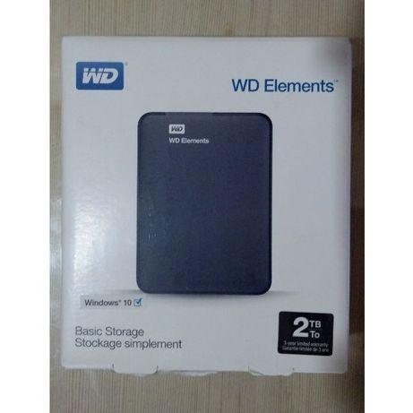 PRET FIX! Hard disk extern WD ELEMENTS de2 TB Nou hdd portabil