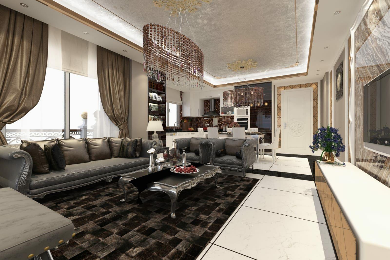 Продам элитную квартиру 2+1 от застройщика в Алании