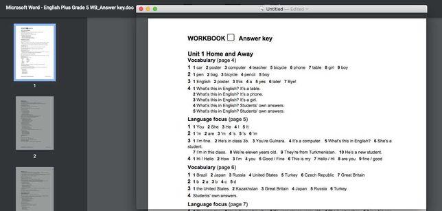 English Plus Kazakhstan Work Book ответы 5 6 7 8 9 классы