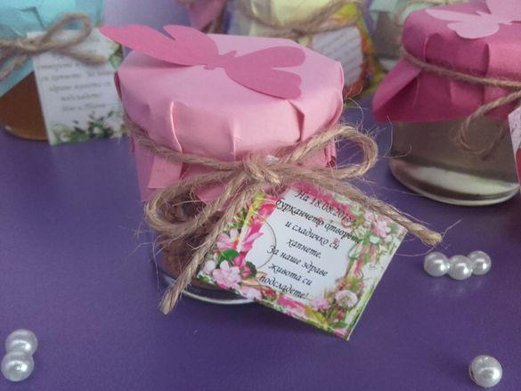 Подаръчета с пожелание за различен повод: сватба, кръщене, 8 Март