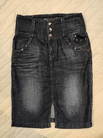 Дънкова пола, размер 38