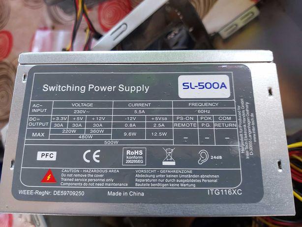 Sursa Switching Power Supply Inter-Tech Model SL-500A , ITG116XC