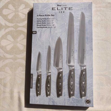 Кухненски ножове комплект на ELITE ICE ,Pro Cook