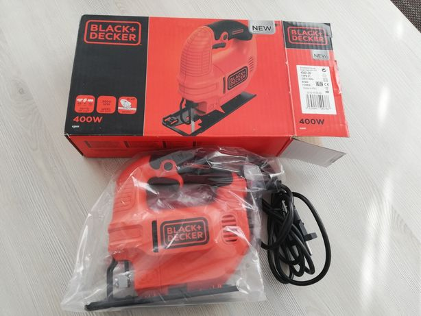 Fierăstrău electric Black+Decker KS501, nou