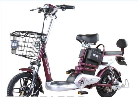 Електрически скутер- велосипед OPAI TBSLD 500W 48V/12AH с двойна седал