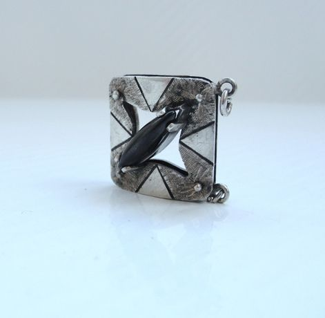Pandantiv Argint cu piatra onix