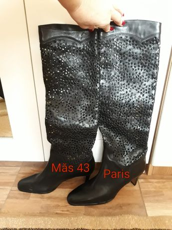 Cizme piele made in France, 42 -43