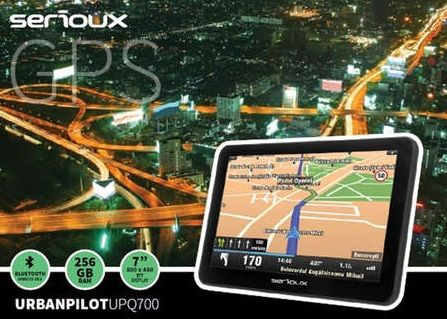 Nou! GPS Auto sau Camion TIR Serioux UPQ 430 500 700 EUROPA 2020