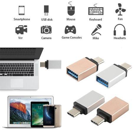 Adaptor OTG USB Type-C - USB sau microUSB-USB cablu HDD SSD stick usb