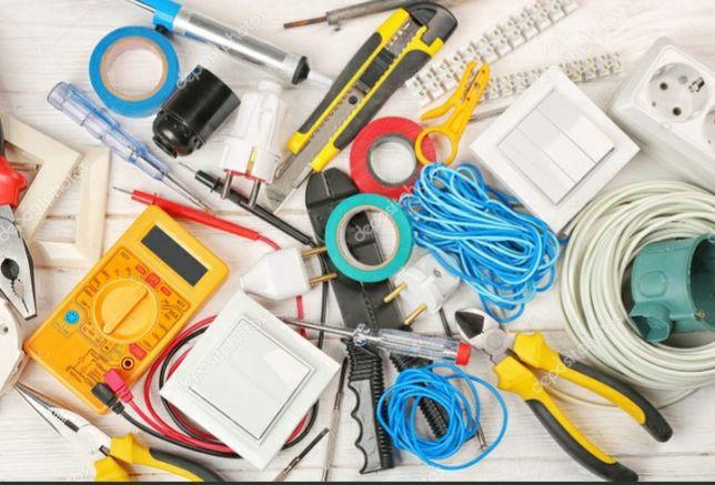 Монтаж.электрикалық заттар жұмыстары