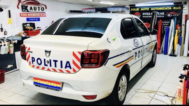 Montaj Folie Auto - Polish Faruri - Colantare