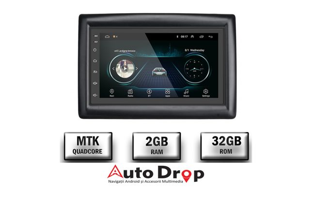 Navigatie Megane 2, Android 9.1, 2+32GB, Internet, GPS, Bluetooth, USB