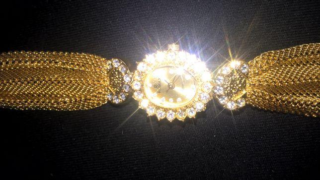 ceas placat aur ROMAX