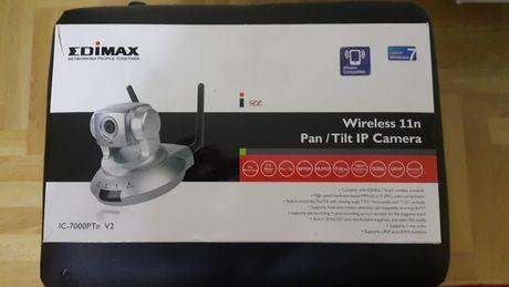 camera de supraveghere wifi cu înregistrare si senzor de miscare