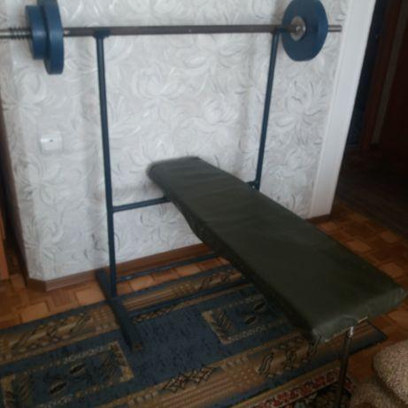 Тренажер для дома лежа