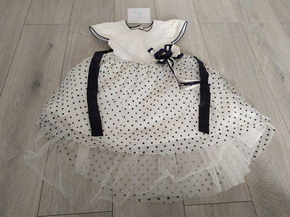Летни официални и ежедневни рокли за момиче 3-4 г.