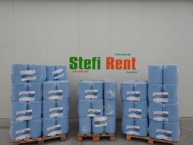 Hartie Blue 500 xl 3 Straturi 28x38cm ,500 portii/rola, 2 role/bax