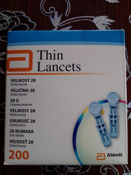 Optium ланцети за убождащо устройство
